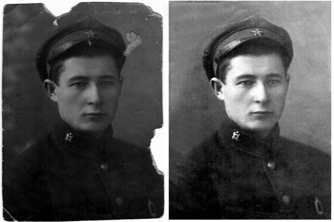 Восстановлю старые фото 1 - kwork.ru