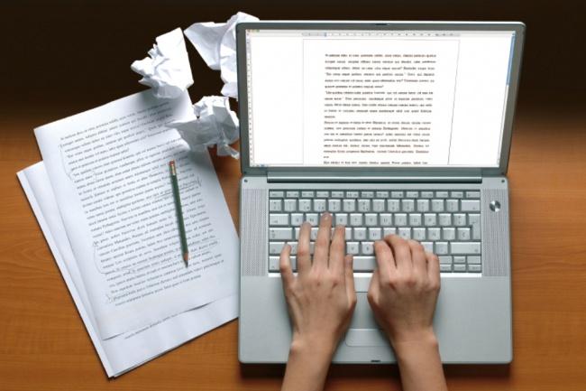Выполню набор отсканированного рукописного или печатного текста 1 - kwork.ru