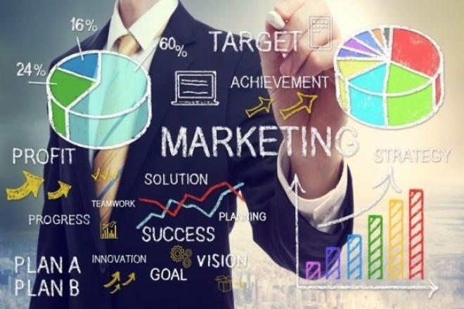 Разработка маркетинговой стратегии компании 1 - kwork.ru