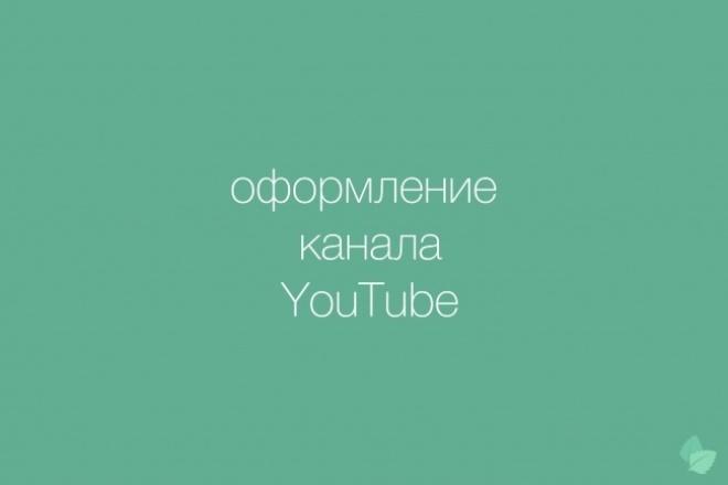 Оформление канала YouTubeДизайн групп в соцсетях<br>В дефолтный Кворк войдёт: Шапка Аватарка 3 правки В случае использования всех 3 правок, каждая последующая оплачивается услугой 1 дополнительная правка.<br>