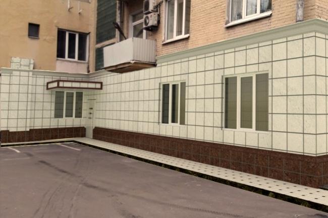 ФотомонтажФотомонтаж<br>Смонтирую на фото фасад в объект, плитки, брусчатки на дорожку. в перспективы будет после обработке даже не заметно будет<br>