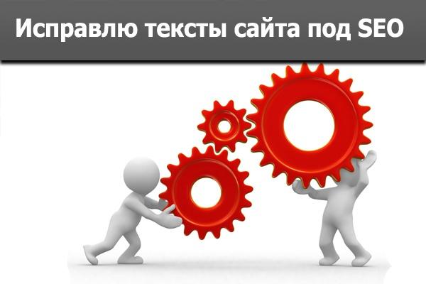 Исправлю тексты, оптимизирую их под поисковики и пользователей 1 - kwork.ru