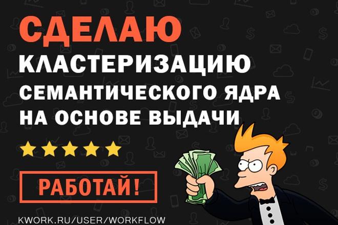 Кластеризация СЯ на основе выдачи Яндекса в KeyAssort 1 - kwork.ru