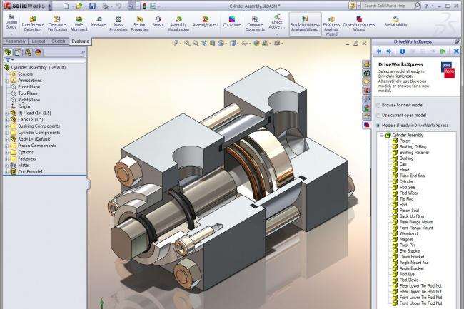 Сделаю модели в SolidWorks 1 - kwork.ru