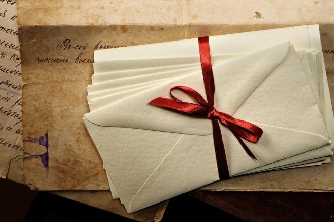 Напишу письмо от вас 1 - kwork.ru
