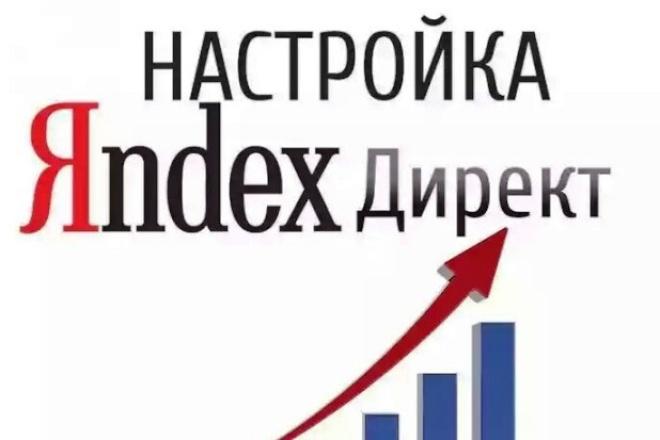 Настрою яндекс.директ на 500 запросов 1 - kwork.ru