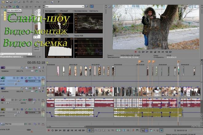 Монтаж вашего видео 1 - kwork.ru