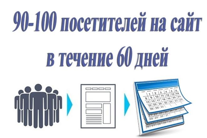 90-100 посетителей на сайт ежедневно в течение 60 днейТрафик<br>1 кворк = 90-100 посетителей на сайт ежедневно в течение 60 дней. Заказывайте трафик сразу на 2 месяца ! Возможности: ГЕО: Россия или Украина (указать точное ГЕО можно через дополнительные опции) Уникальные IP каждые 24 часа Время на сайте: не менее 1 минуты (можно увеличить через доп. опции) Вход на страницу и 2-5 переходов по сайту в случайном порядке В статистике посещения будут учитываться как Прямой переход на сайт. При желании вы можете указать ключевую фразу и источник перехода. Отказы - 0-5% по Яндекс. Метрике Есть возможность указать дополнительные страницы и рефереры (5 доп. страниц и по 5 рефереров к каждой странице) Используемый метод работы абсолютно безопасен для Google Analytics, Яндекс. Метрика, поисковиков, рекламных сетей! Пользователи, которые перейдут на ваш сайт могут: выполнять движения мышкой, скроллить страницу, выделять текст, кликать по ссылкам. Данный кворк не предназначен для увеличения конверсии. Перед заказом кворка просьба внимательно прочитать описание кворка, раздел Что понадобится продавцу и прикрепленный файл Полные условия кворка.<br>