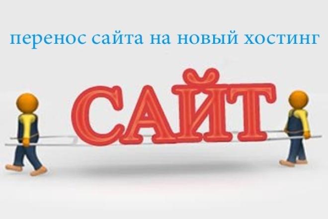 Перенесу или установлю любой сайт на новый хостинг 1 - kwork.ru