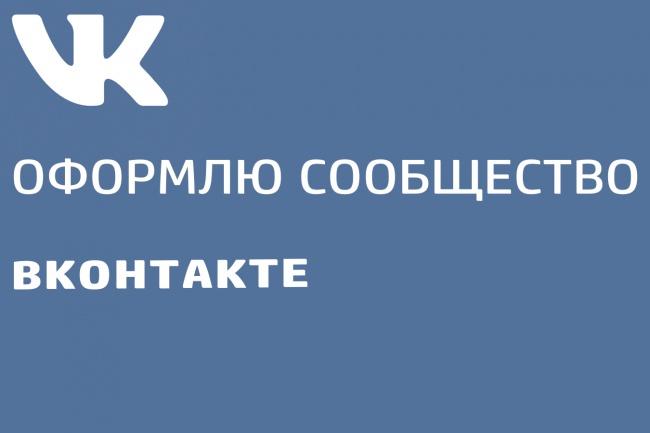 Оформление сообщества VK 1 - kwork.ru