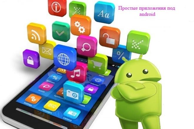 Напишу простое приложениеМобильные приложения<br>Быстро напишу простое приложение. Любые профессиональные или узкоспециализированные справочники. Сделаю быстро и качественно.<br>