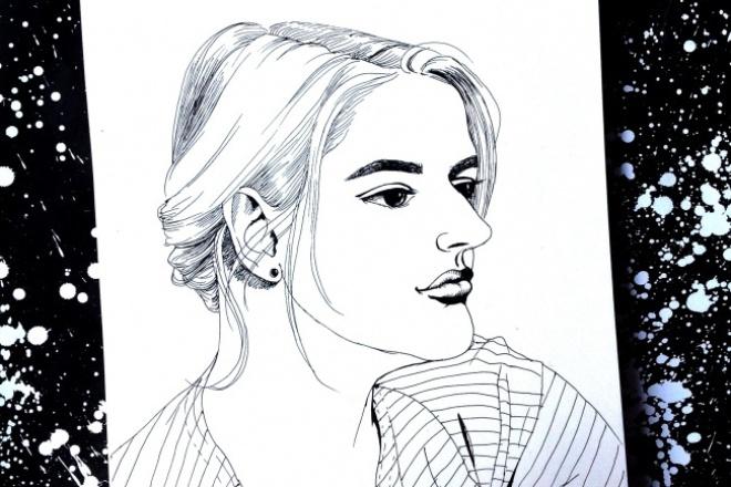 Нарисую для вас портрет 1 - kwork.ru