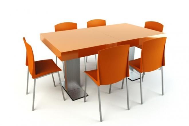 99 высокодеталлизированных 3d моделей мебели для гостиной 1 - kwork.ru