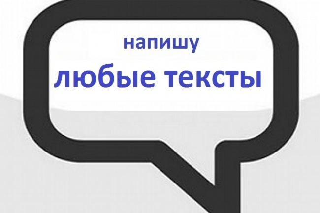 Написание текстов для комментариев 1 - kwork.ru