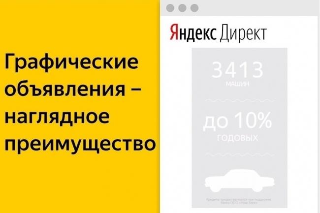 Графические объявления в Директ 1 - kwork.ru