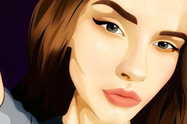 Нарисую цифровой портрет 1 - kwork.ru