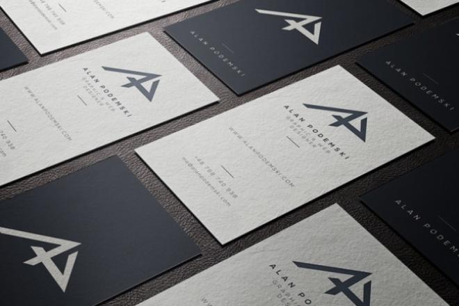 Разработаю дизайн визитки с учётом ваших пожеланий 1 - kwork.ru