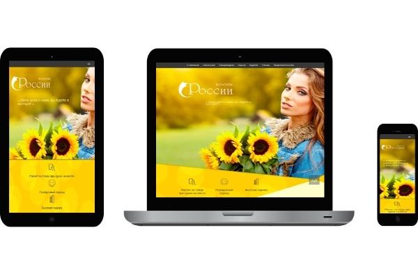 Адаптирую страницу сайта под мобильные устройства 1 - kwork.ru
