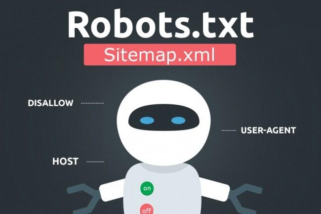 Сделаю sitemap. xml и robots. txt для вашего сайта 1 - kwork.ru