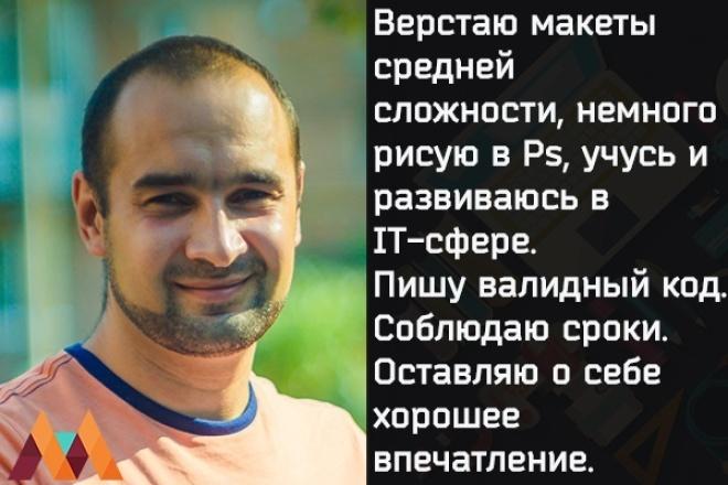сверстаю сайт средней сложности 1 - kwork.ru