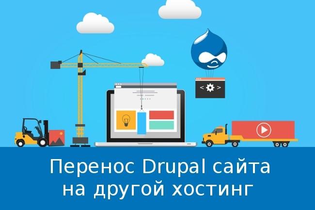 Drupal перенос сайта на хостинг хостинг серверов майнкрафт с ftp