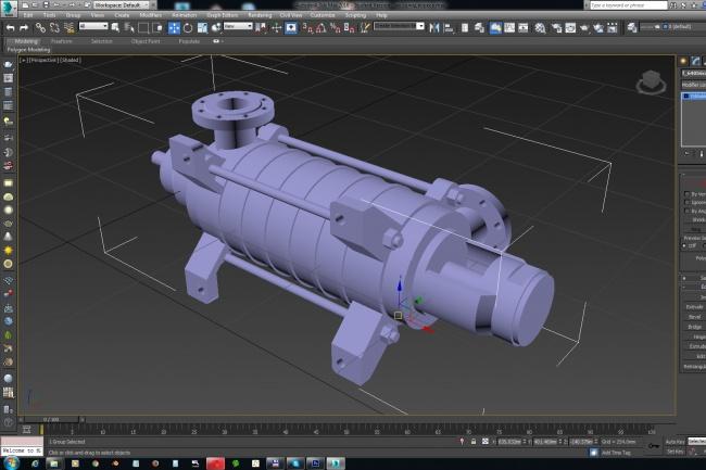 Создам 3D модель по вашим чертежам 1 - kwork.ru