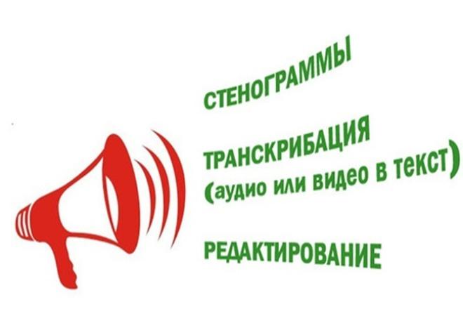 Переведу аудио в текст 1 - kwork.ru