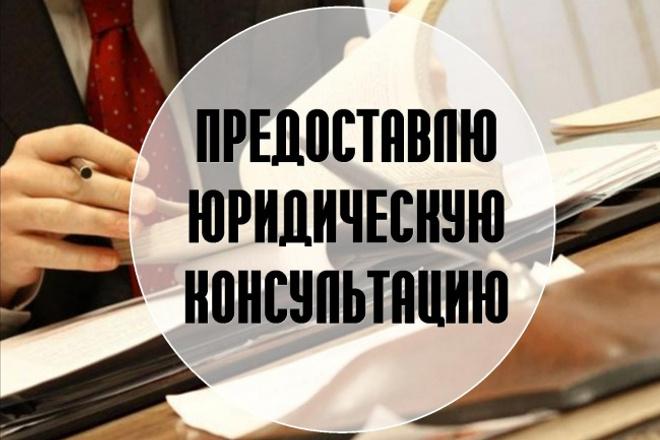 Предоставлю юридическую консультацию 1 - kwork.ru