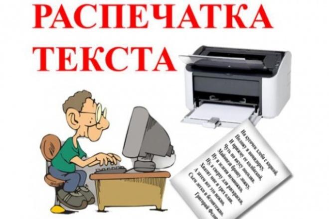 Перепечатаю вам текст 1 - kwork.ru