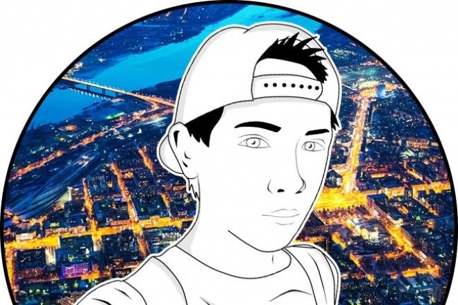 Сделаю арт по фото 1 - kwork.ru