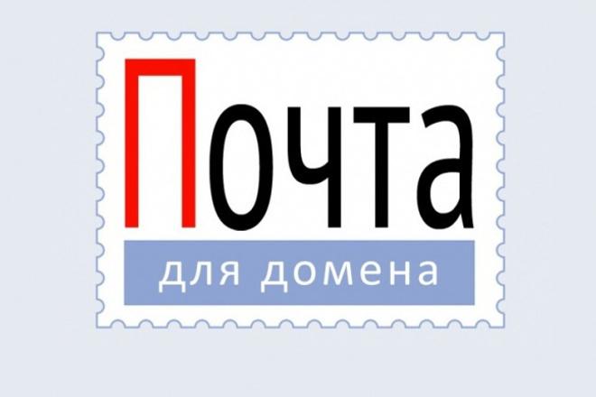 Настрою почту для домена info.вашсайт.ru в интерфейсе яндекса 1 - kwork.ru