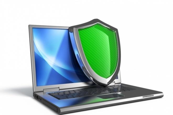 Установка антивируса на компьютер 1 - kwork.ru
