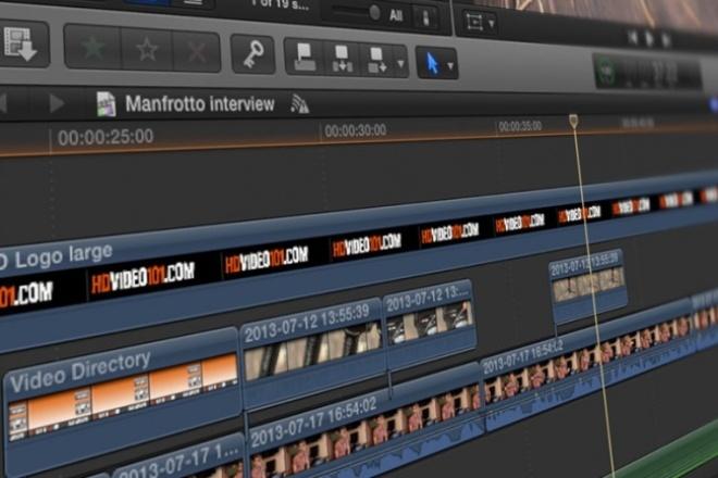 Вырежу видеофрагмент из большого видео или фильмаМонтаж и обработка видео<br>Вырежу видеофрагмент из видеоролика или фильма. Сохраню в любом удобном для вас формате. Опыт имеется.<br>
