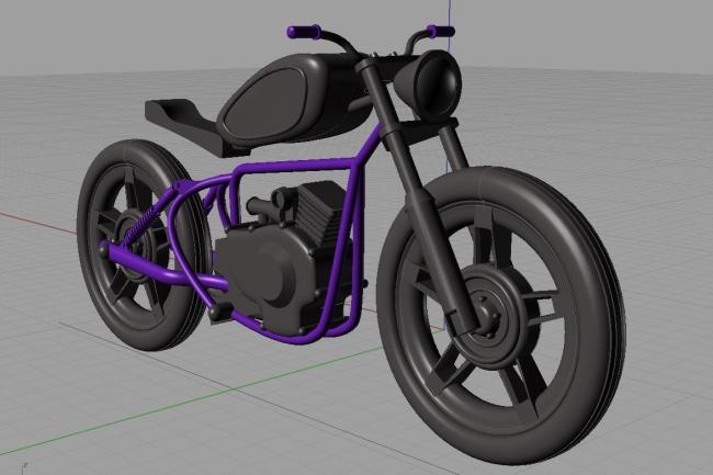 Сделаю 3D модельФлеш и 3D-графика<br>3д модель мебели или других объектов (транспорт, элементы интерьера и экстерьера, логотипы и прочее) в Rhino 3D.<br>