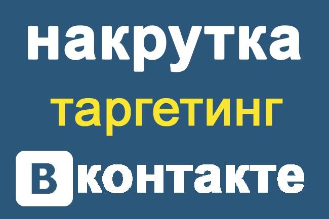 Таргентинг подписчиков Вконтакте (Россия,Беларусь) 1 - kwork.ru