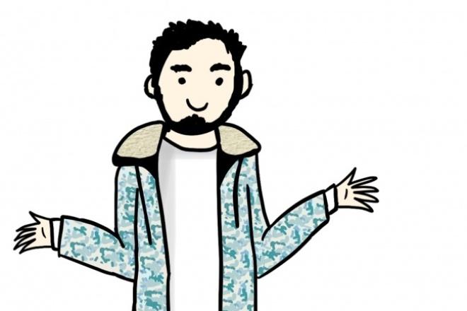 Дизайн персонажа 1 - kwork.ru