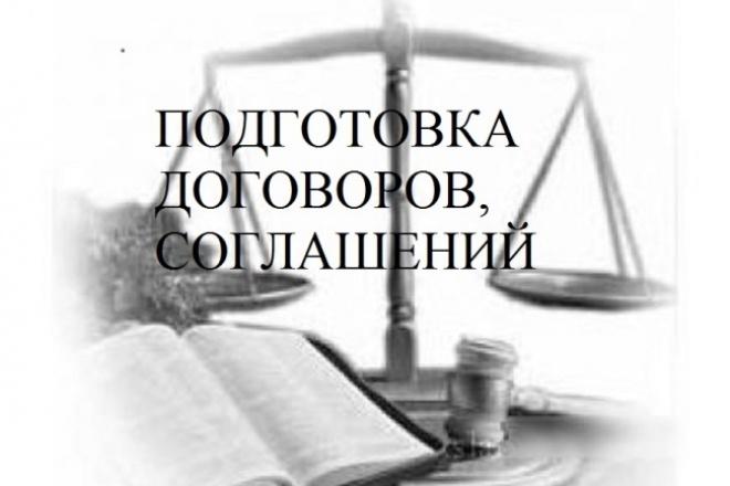 Подготовка договоров, соглашений 1 - kwork.ru