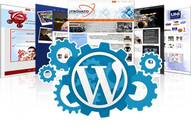 Установлю и настрою сайт на WordPress + 3 месяц хостинга в подарок 1 - kwork.ru
