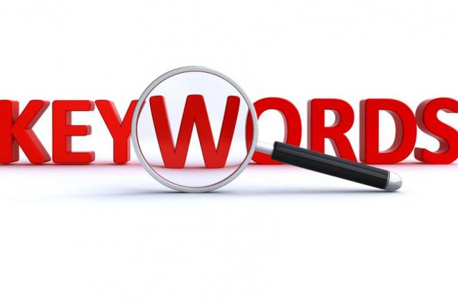 Все ключи ваших конкурентов в контекстной рекламе и органике 1 - kwork.ru