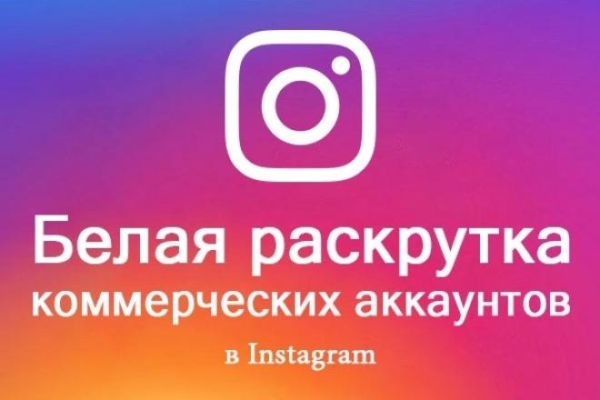 Продающий аккаунт в Instagram+раскрутка белыми методами 1 - kwork.ru