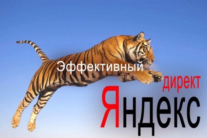Яндекс Директ эффективно, сертифицированный специалист 1 - kwork.ru