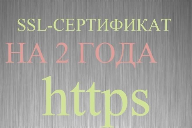 SSL-сертификат на 2 года + установка на хостинг 1 - kwork.ru