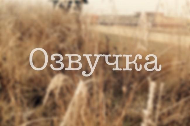 Автоответчик, голосовое меню, озвучка 1 - kwork.ru