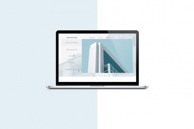 Создам дизайн любой страницы сайта 1 - kwork.ru