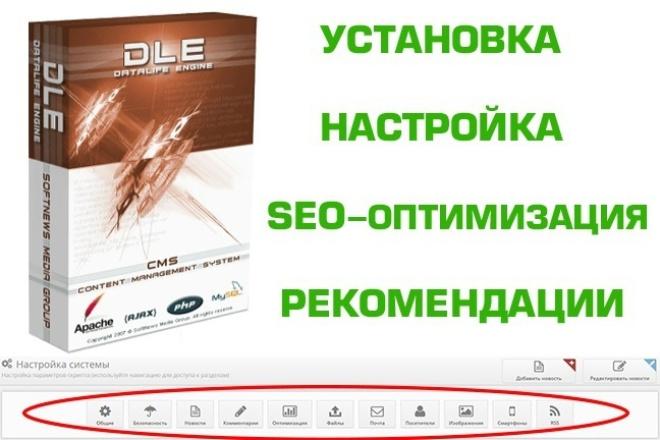 DLE: настройка, совет, анализ и многое другое 1 - kwork.ru