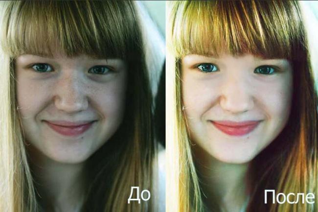 Профессионально отреставрирую (отретуширую) 2 фотоОбработка изображений<br>1. Уберу нежелательные дефекты с лица без эффекта маски. 2. Сделаю фигуру стройной. 3. Отреставрирую старые или испорченные фотографии. 4. Поменяю фон на более красивый или уберу ненужное.<br>