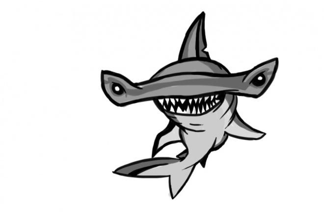 Сделаю логотипЛоготипы<br>Сделаю красивый логотип для компании, канала или сайта. Делаю качественные логотипы, для сравнения я прикрепил часть логотипа (акула), который я делал ГОД назад.<br>