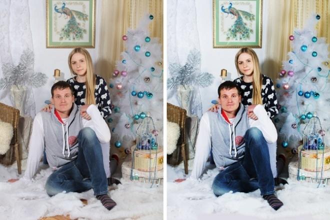 Ретушь 40 фотографий 1 - kwork.ru