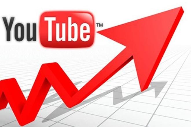 2000 живых  просмотров на YouTube!Сразу в топ в любой нише 1 - kwork.ru