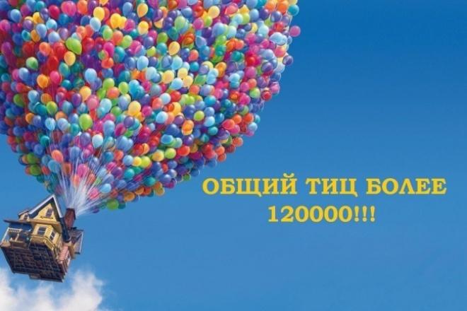 Качаю траст жирными ссылками в ручную (общий тИЦ более 120000!!!) 1 - kwork.ru